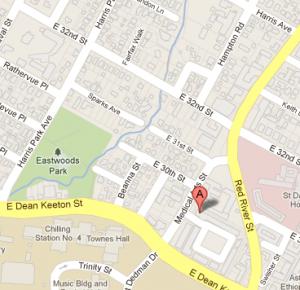 Google map Austin location